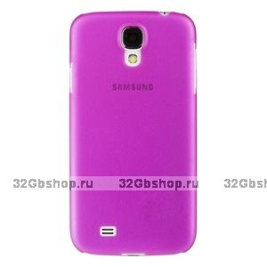 Пластиковый чехол для Samsung Galaxy S4 - Matte Plastic Case Purple - фиолетовый