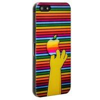 Накладка для iPhone 5 / 5s / SE с яблоком