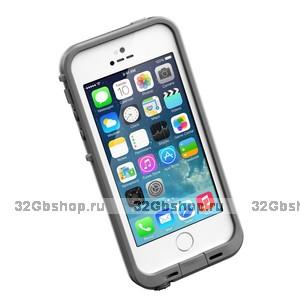 Защитный чехол для iPhone 5s / SE / 5 - LifeProof frē iPhone 5 Case White