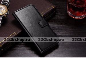 Чехол-книжка для Samsung Galaxy S4 - Black