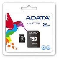 Карта памяти A-Data microSD 2Gb
