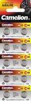 Элемент питания Camelion G12 (386A / LR43 / 186 бататарейка для часов)