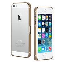 Металлический бампер Fashion Bronze для iPhone 5s / SE / 5 бронзовый