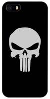 Чехол-накладка для iPhone 5 / 5s / SE череп
