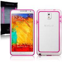 Бампер для Samsung Galaxy Note 3 N9000 розовый