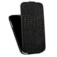 Кожаный чехол для Samsung S4 - BOROFONE Crocodile leather case for Samsung Galaxy S4 - Black