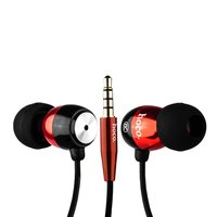 Наушники Hoco EPM01 Common Headphone With Mic с микрофоном Red