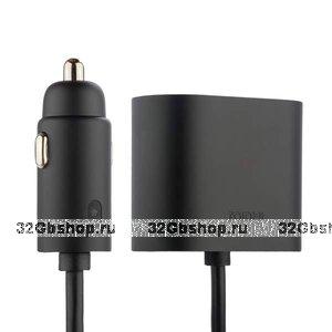 Разветвитель прикуривателя Xiaomi Roidmi на 2 выхода + 2 USB выхода 12 V (WF-0023)