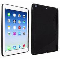 Силиконовый чехол для iPad Air 5 черный