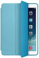 Голубой чехол обложка с задней крышкой для iPad mini 4 - Apple Smart Case Blue