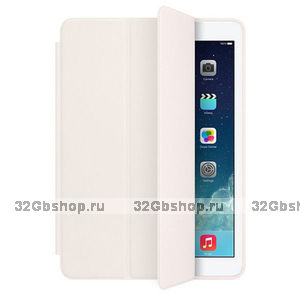 Чехол обложка Smart Case White для iPad Air 2 белый