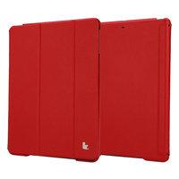 Кожаный чехол Jisoncase Executive для iPad Air 5 красный