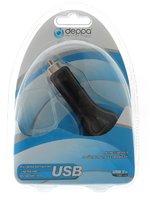 Автомобильное зарядное устройство micro USB 1000mAh Deppa