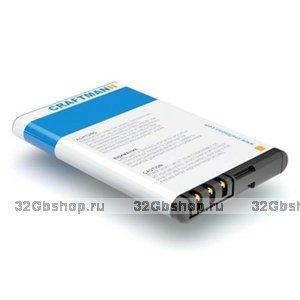 Оригинальный аккумулятор Craftmann BL-5CT (для Nokia 3720 / 5220 XpressMusic / 6303 / 6303i / 6730 / C3 / C5-00 / C6-01)