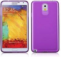 Силиконовый чехол для Samsung Galaxy Note 3 N9000 фиолетовый