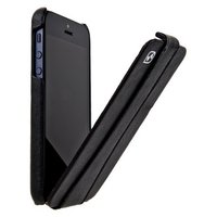 Кожаный чехол для iPhone 5/5s / SE - HOCO Earl Classic Black