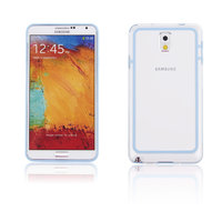 Бампер для Samsung Galaxy Note 3 N9000 голубой