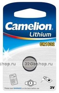 Элемент питания Camelion CR1632 (батарейка литиевая, 3V)
