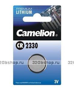 Элемент питания Camelion CR2330 (батарейка литиевая 3V)