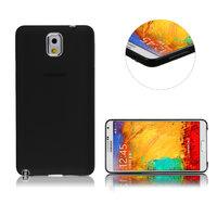 Ультратонкий чехол для Samsung Galaxy Note 3 N9000 черный матовый 0.3mm Ultra Thin Matte Black Case