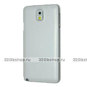 Супертонкий чехол для Samsung Galaxy Note 3 N9000 белый пластик
