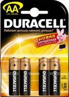 Батарейки Duracell LR6-4BL АА