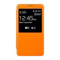 Чехол-обложка S View Cover для Samsung Galaxy Note 3 N9000 оранжевый чехол с окошком