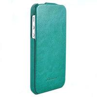 Чехол Fashion для iPhone 5 / 5s / SE с откидным верхом бирюзовый
