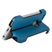 Чехол подставка для iPhone 5c голубой - Foldable Stand Case for iPhone 5c Sky Blue