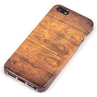 Чехол накладка для iPhone 5 / 5s / SE под дерево