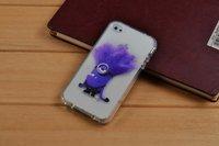 Чехол накладка для iPhone 5s / SE / 5 прозрачный силикон Гадкий я 2
