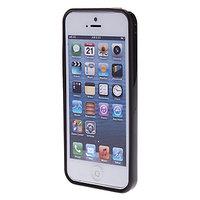 Пластиковый бампер для iPhone 5c черный