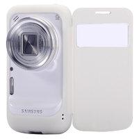 Чехол футляр книга Baseus для Samsung SM-C101 Galaxy S4 Zoom с окном New Age белый