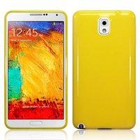 Силиконовый чехол для Samsung Galaxy Note 3 N9000 желтый