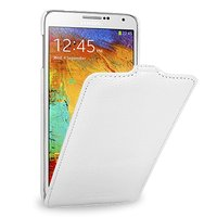 Кожаный чехол Melkco для Samsung Galaxy Note 3 N9000 белый - Melkco Leather Case Jacka Type White LC