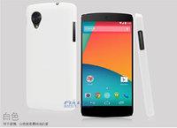 Белый пластиковый чехол для Google Nexus 5