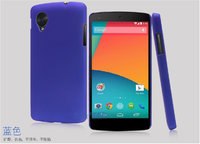 Фиолетовый пластиковый чехол накладка для Google Nexus 5