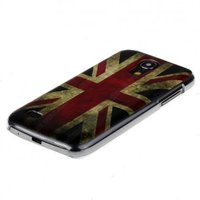 Накладка для Samsung GT-I9190 Galaxy S4 Mini 3D Great Britain
