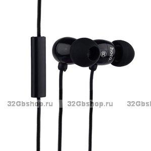Наушники Hoco EPM01 Common Headphone With Mic с микрофоном Black