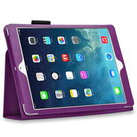 Чехол книга Mobi Cover для iPad Air 5 фиолетовый