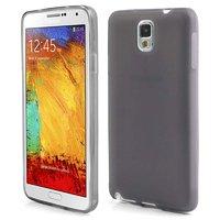 Матовый силиконовый чехол для Samsung Galaxy Note 3 N9000 серый