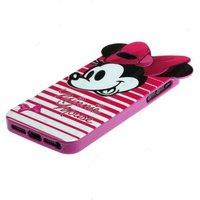 Чехол накладка силикон для iPhone 5s / SE / 5 Mickey Mouse Мини