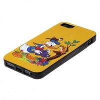 Силиконовый чехол для iPhone 5 / 5s / SE жёлтый Donald Dak