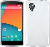 Силиконовый чехол для Google Nexus 5 белый