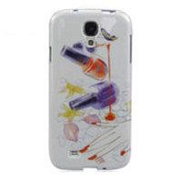 Чехол силиконовый для Samsung Galaxy S4 лак для ногтей и рука