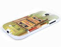 Чехол силиконовый для Samsung Galaxy S4 помада и тени
