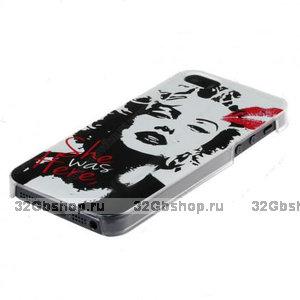 Чехол накладка для iPhone 5 / 5s / SE Marilyn Monroe