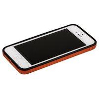 Красный бампер для iPhone 5C с черной полосой