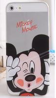 Чехол накладка для iPhone 5 / 5s / SE Микки Маус маус