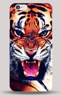 Чехол накладка для iPhone 5 / 5s / SE тигр